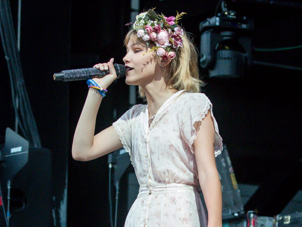 "Fourteen-year-old Grace VanderWaal, winner of ""America's Got Talent"" in 2016, opens for Imagine Dragons at the Wharf Amphitheater in Orange Beach on Tuesday, August 7, 2018."