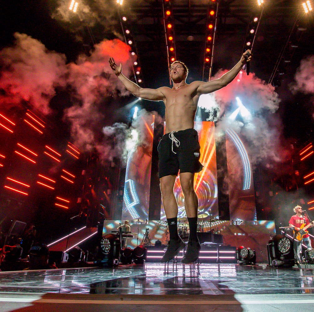Imagine Dragons hit The Wharf as part of Evolve World Tour