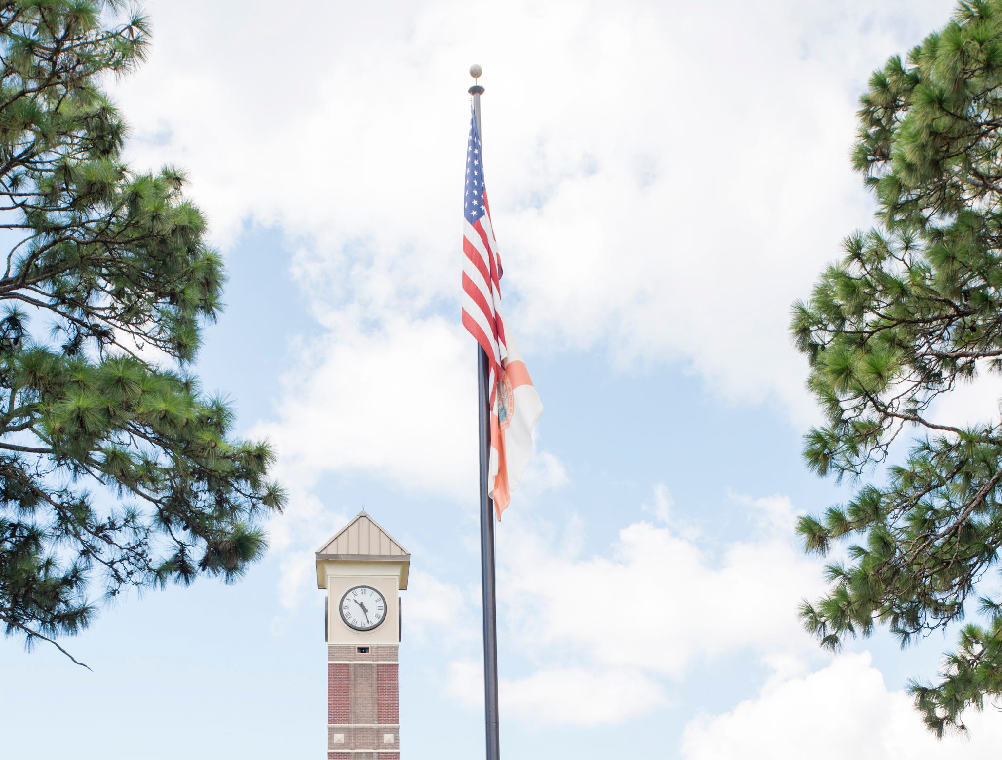 Pensacola State College on Wednesday, August 8, 2018.