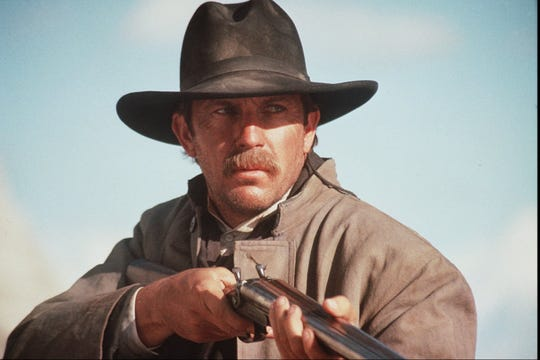 "Kevin Costner is the long arm of the law in 1994's ""Wyatt Earp."""