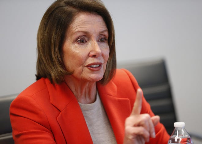 House Minority Leader Nancy Pelosi, D-Calif., swung through Phoenix on Tuesday, but not every Arizona Democrat was eager to stand with one their party's most polarizing figures.