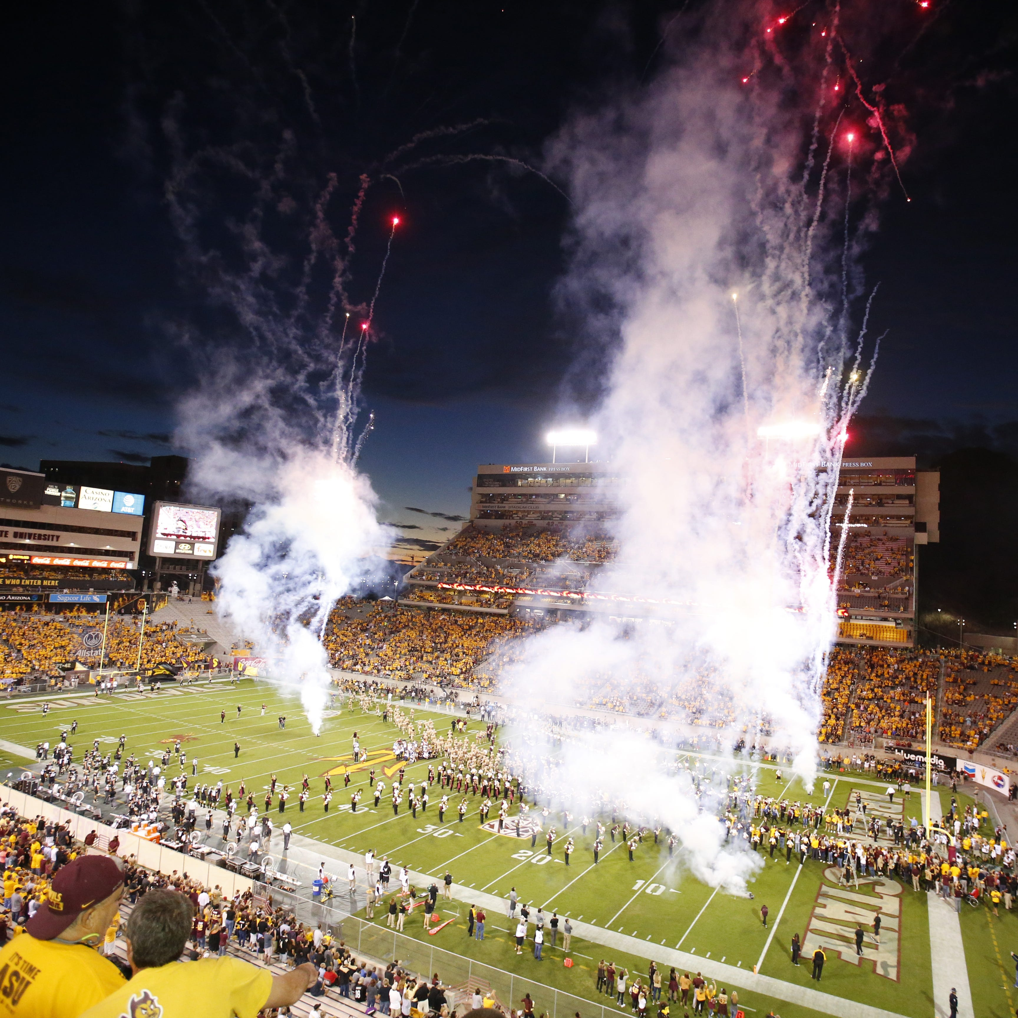 ASU expanding beer, wine sales at Sun Devil Stadium to all but student concession areas