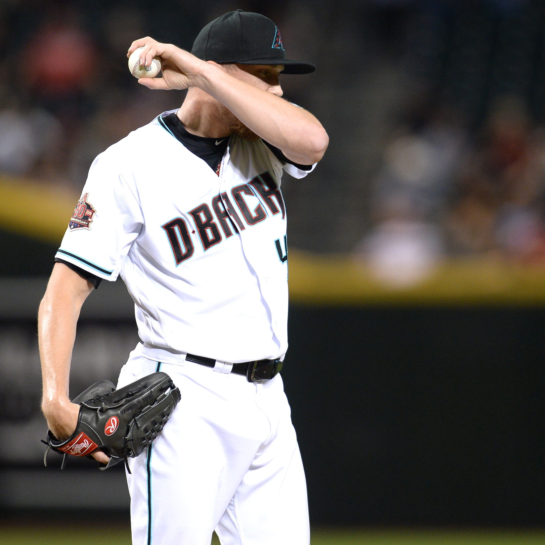 Struggles continue for new Diamondbacks relievers in loss to Phillies