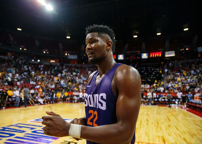 Suns center Deandre Ayton, the No. 1 overall draft pick, will make his NBA debut on Oct. 17.
