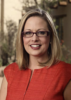 In the era of the vanishing political center, U.S. Rep. Kyrsten Sinema, who is seeking the Democratic nomination for the open Senate seat, is running as an unabashed Democratic centrist.