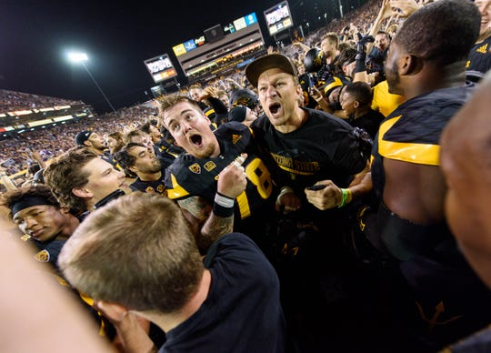 ASU's last Blackout Game ended with the Sun Devils upsetting No. 5 Washington last season.