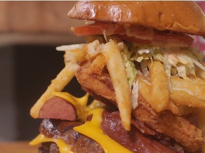 Gridzilla Burger: $22 (Section 102)