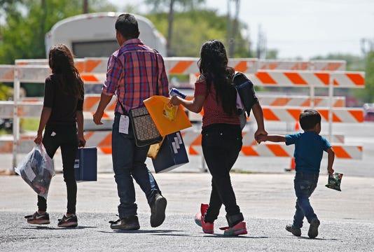 Inmigraci N A Lo Largo De La Frontera De Texas M Xico