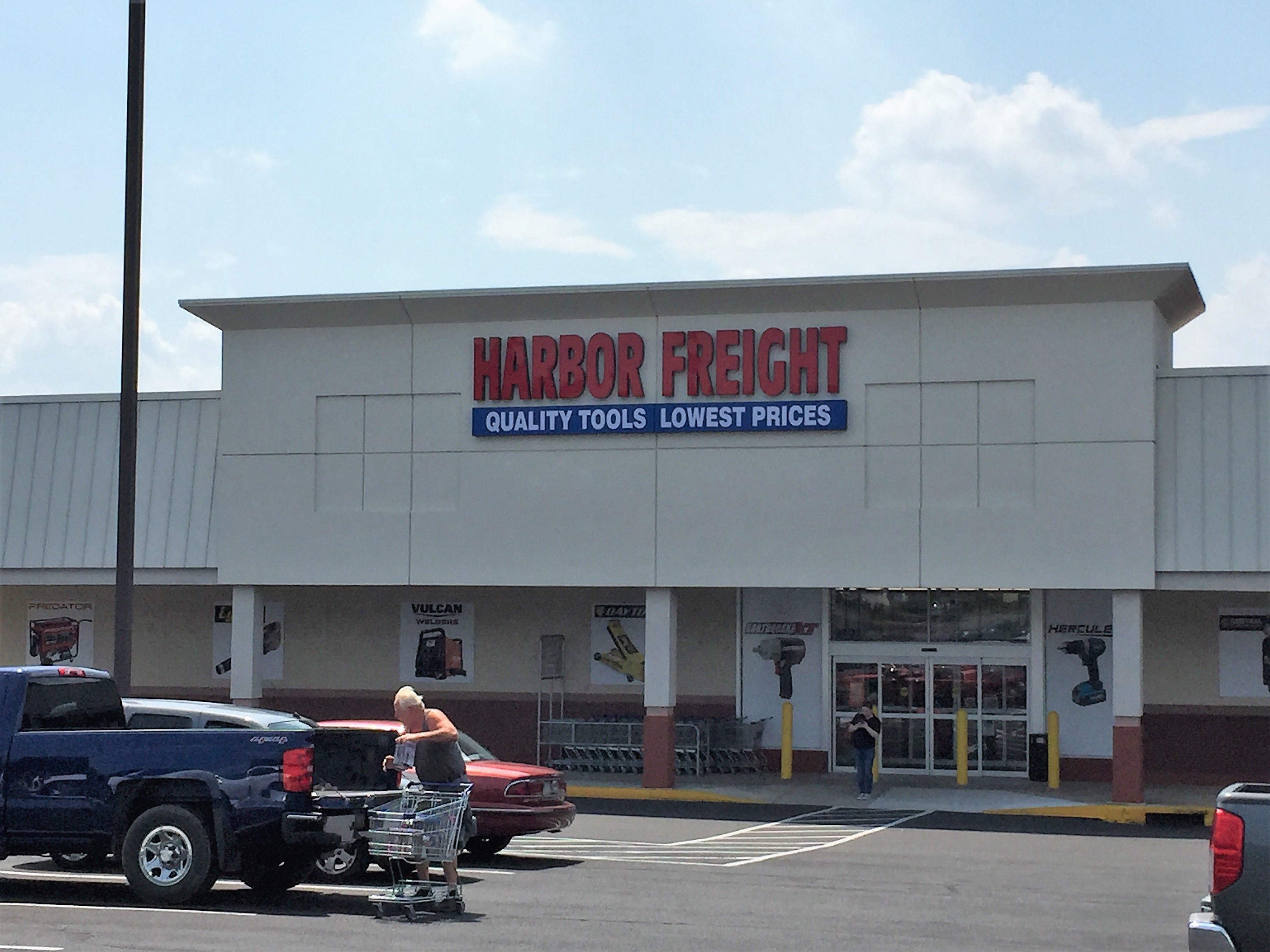 Now open, the discount hardware chain has been an immediate hit at the Lebanon Plaza. With its insane low prices on tools, people are flocking to Harbor Freight to stock their garages and sheds. Harbor Freight cuts out the middle man and stamps its name on its own line of quality tools.