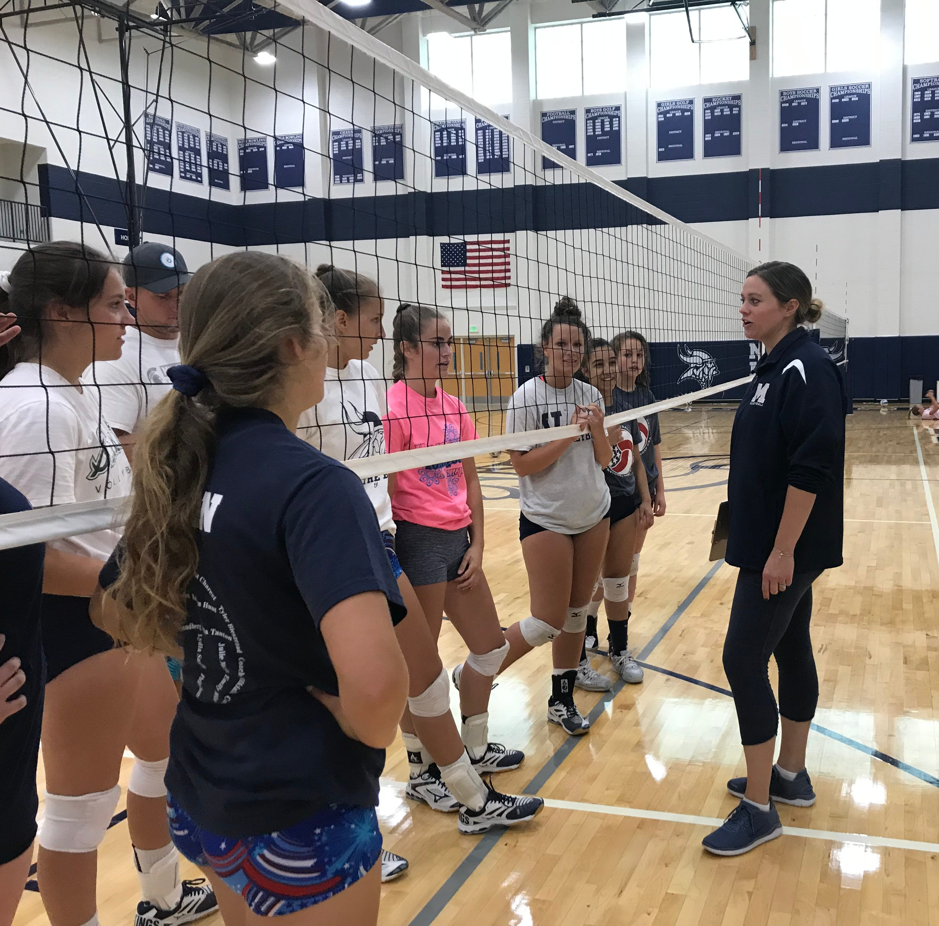 Volleyball returns: Local teams open practice for new season
