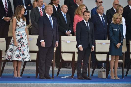 No Arc De Trump Yet But Perhaps A French Inspired Military Parade