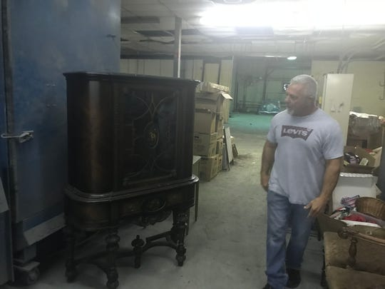 Jim Jerris is and antique dealer who lost his storage space