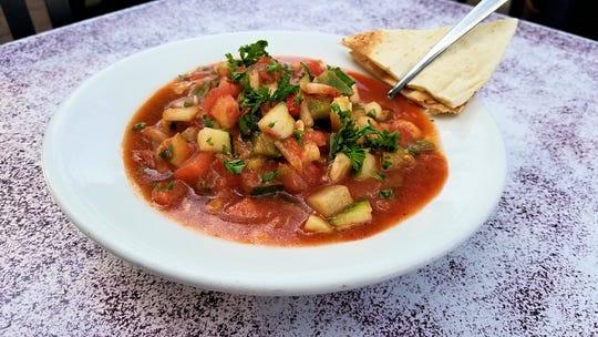 Gazpacho at Sinbad's Mediterranean Cuisine.