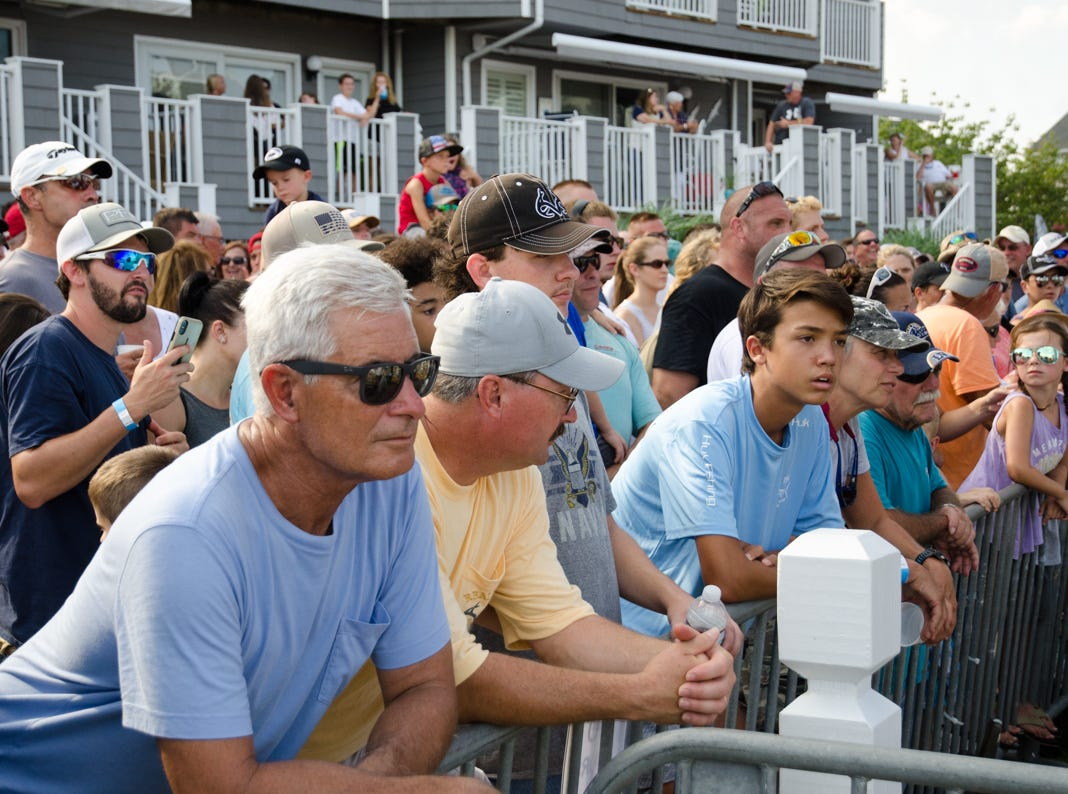 The 3rd day of the 45th Annual White Marlin Open in Ocean City, Md. on Wednesday, August 8, 2018