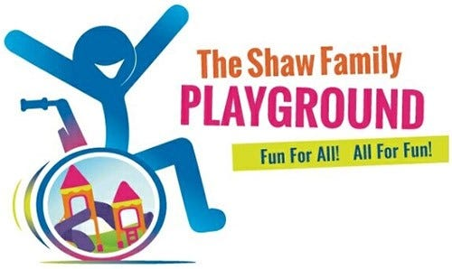 The Shaw Family Playground has received a challenge grant from an anonymous supporter to help them to achieve their $1,000,050 goal.
