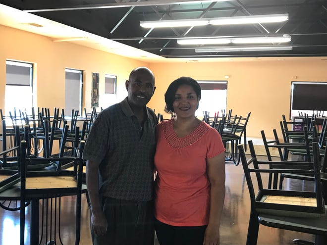 Mulugeta Endayehu and his wife Marta are reopening Lalibela Restaurant at 200 S. Kiwanis Ave. this weekend.