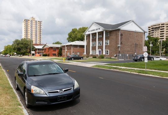 Springfield has gotten rid of 30 on-street parking spaces on Elm Street between Kimbrough and National Avenues.