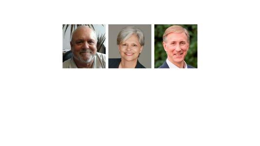 Commissioner Craig Bomgaars, Tarryl Clark, Steve Gottwalt