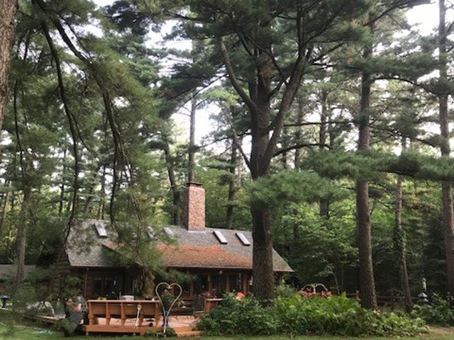 """The """"Caretakers' Cabin"""" at the Church O' The Pines"""
