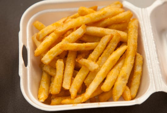 Fries from One Hot Grill Tuesday, Aug. 8, 2018.