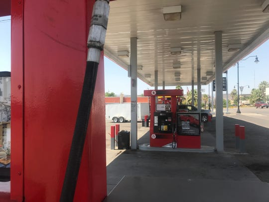 Gas is sold at a station in St. George on Wednesday, Aug. 8, 2018.