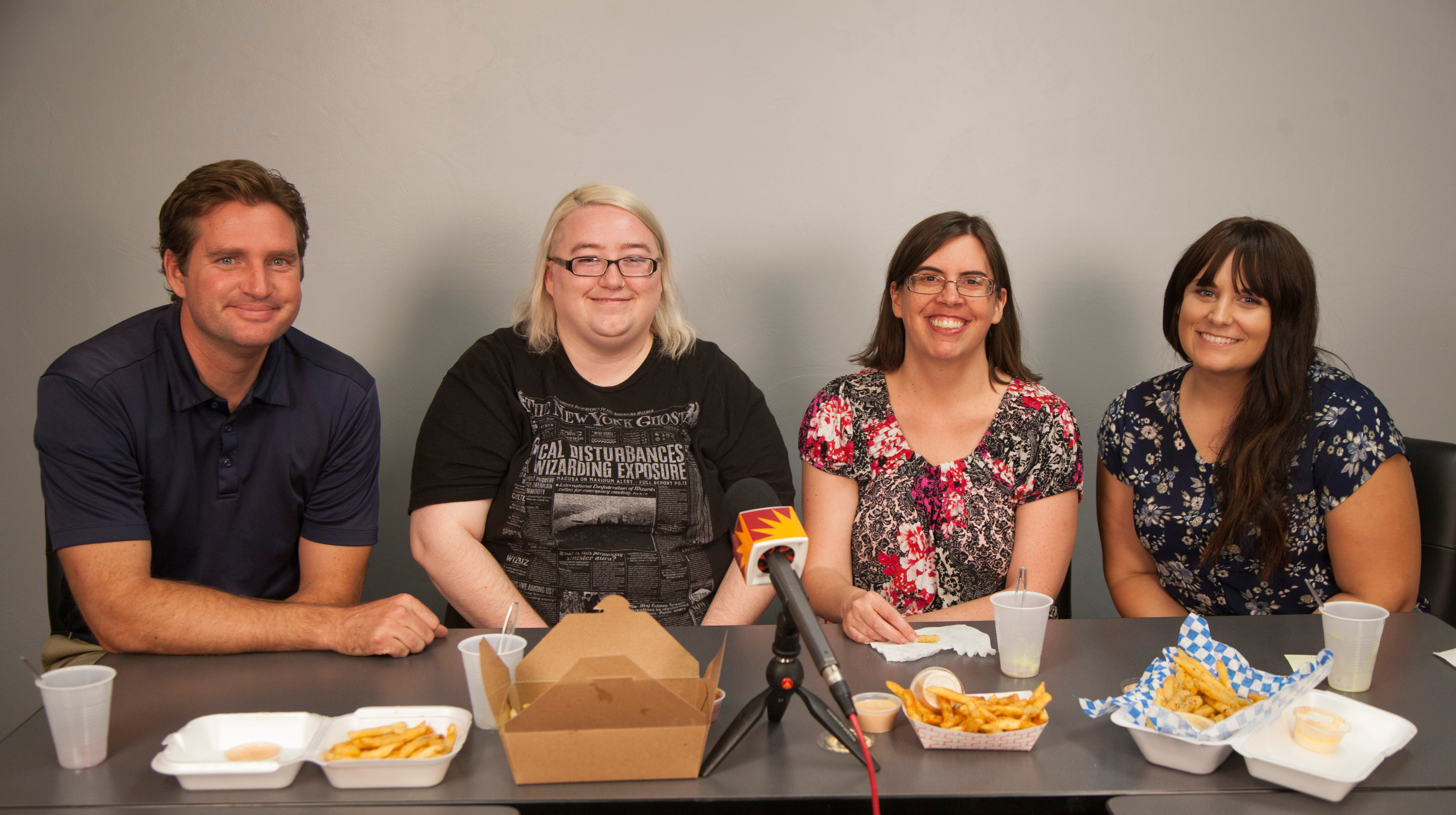 Spectrum staff members eliminate two more contenders in the search for the best fries in St. George Tuesday, Aug. 8, 2018.