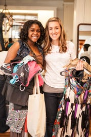 Throughout the month, fab'rik also strives to raise $16,000 to fund 200 free shopping sprees for women in need.