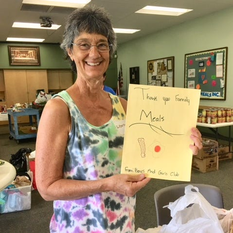 Family Meals volunteers deliver meal ingredient bags to over 1,400 Treasure Coast families
