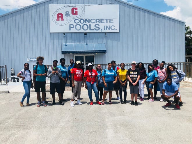 The teens, from BGCSLC's Chuck Hill and Ken Pruitt Clubhouses in Port St. Lucie, participated in a complete tour of the A&G facility, courtesy of CEO, Travis Leonard. They said the trip was eye-opening, both in terms of the wide range of occupational types and the skills and background needed for various jobs.