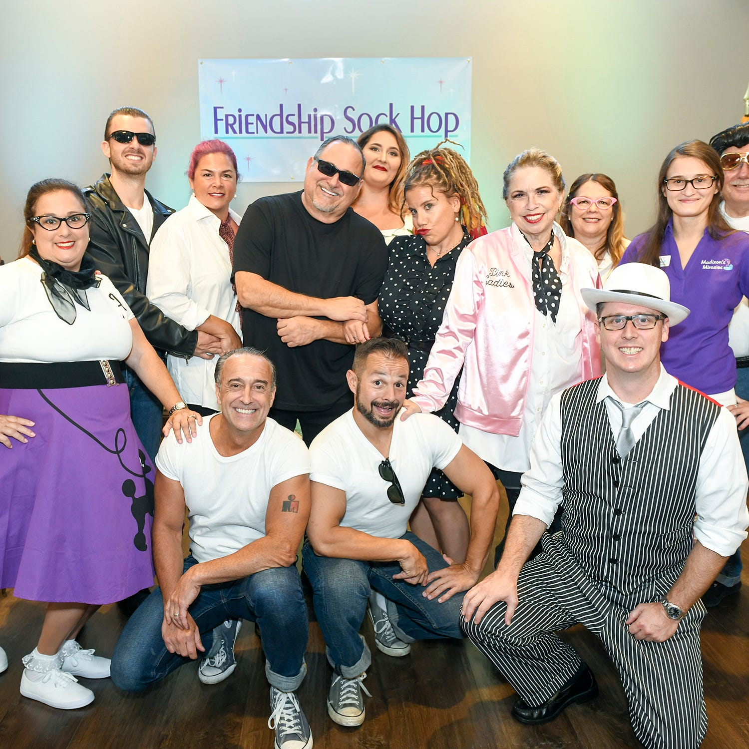 Community leaders raise awareness about infant loss by participating in 1950's Sock Hop Murder Mystery