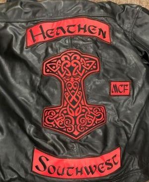 Heathen Motorcycle Club jacket