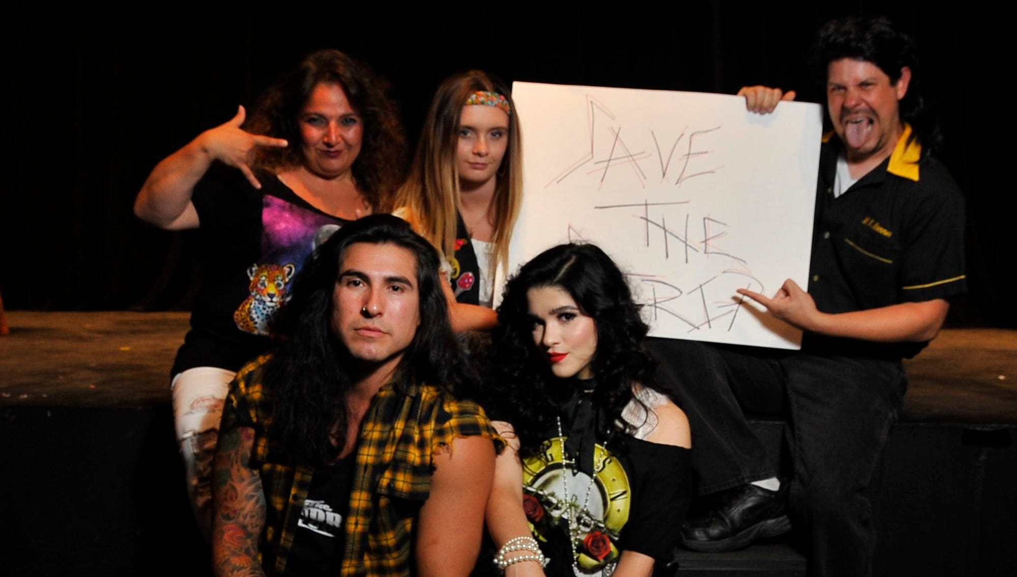 """The Fourth Wall Theatre's  """"Rock of Ages"""" is a fundraiser for Valley Children's Hospital."""