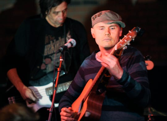 Billy Corgan performs at The Cellar Door in this 2009 file photo.