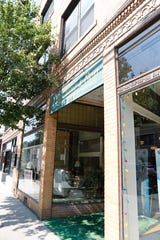 Mount Kisco Mayor Gina Picinich talks about the new business boom revitalizing Main Street and surround local shopping on Aug. 8, 2018. J.H. Crane & Son furniture store is closing and the building has been sold to a new owner that hopes to start a new business on the ground floor.