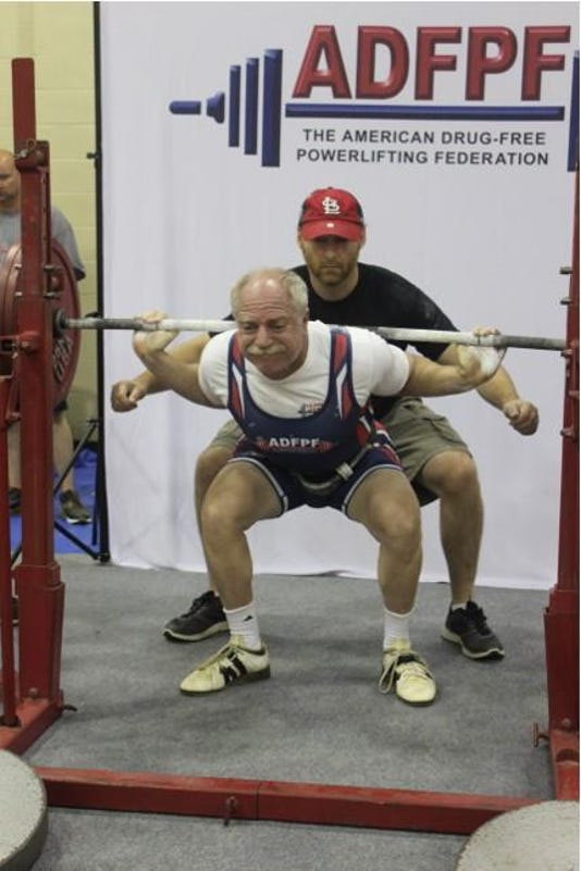 Robert Herbst Is Spotted As He Does Squat During 2018 Nationals