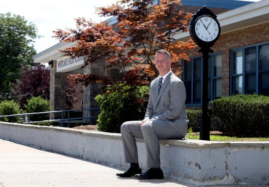 Dr. Kurtis Kotes, the new superintendent of the Mt. Pleasant Central School District, photographed Aug. 8 2018.
