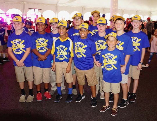 The 10U team from Camden-Wyoming Little League representing Delaware in the 2018 9-10 Eastern Region Baseball Tournament.
