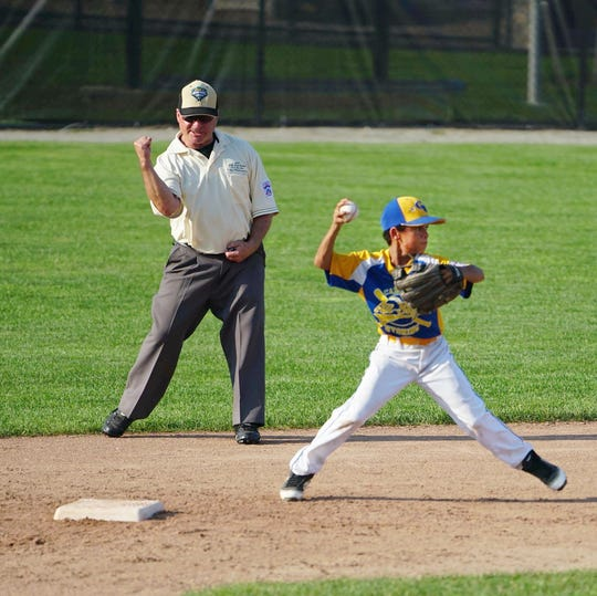 Defense has been a strength for the Camden-Wyoming Little League 10U team representing Delaware in the 2018 9-10 Eastern Region Baseball Tournament in Cranston, Rhode Island.