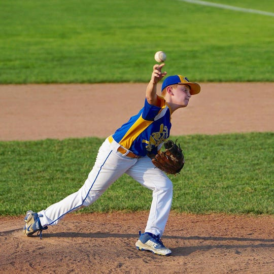 Pitching has been a strength for the Camden-Wyoming Little League 10 U team representing the state in the 2018 9-10 Eastern Region Baseball Tournament.