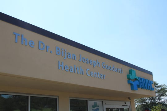 The  Muskingum Valley Health Center's South Zanesville location will be dedicated to Dr. Goodarzi today.