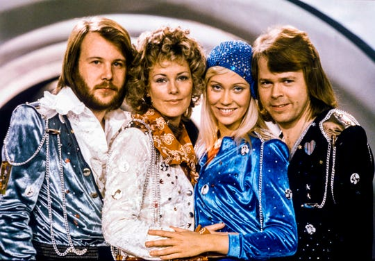 Nobody does pop bangers better than ABBA: From left, Benny Andersson, Anni-Frid Lyngstad, Agnetha Faltskog and Bjorn Ulvaeus.