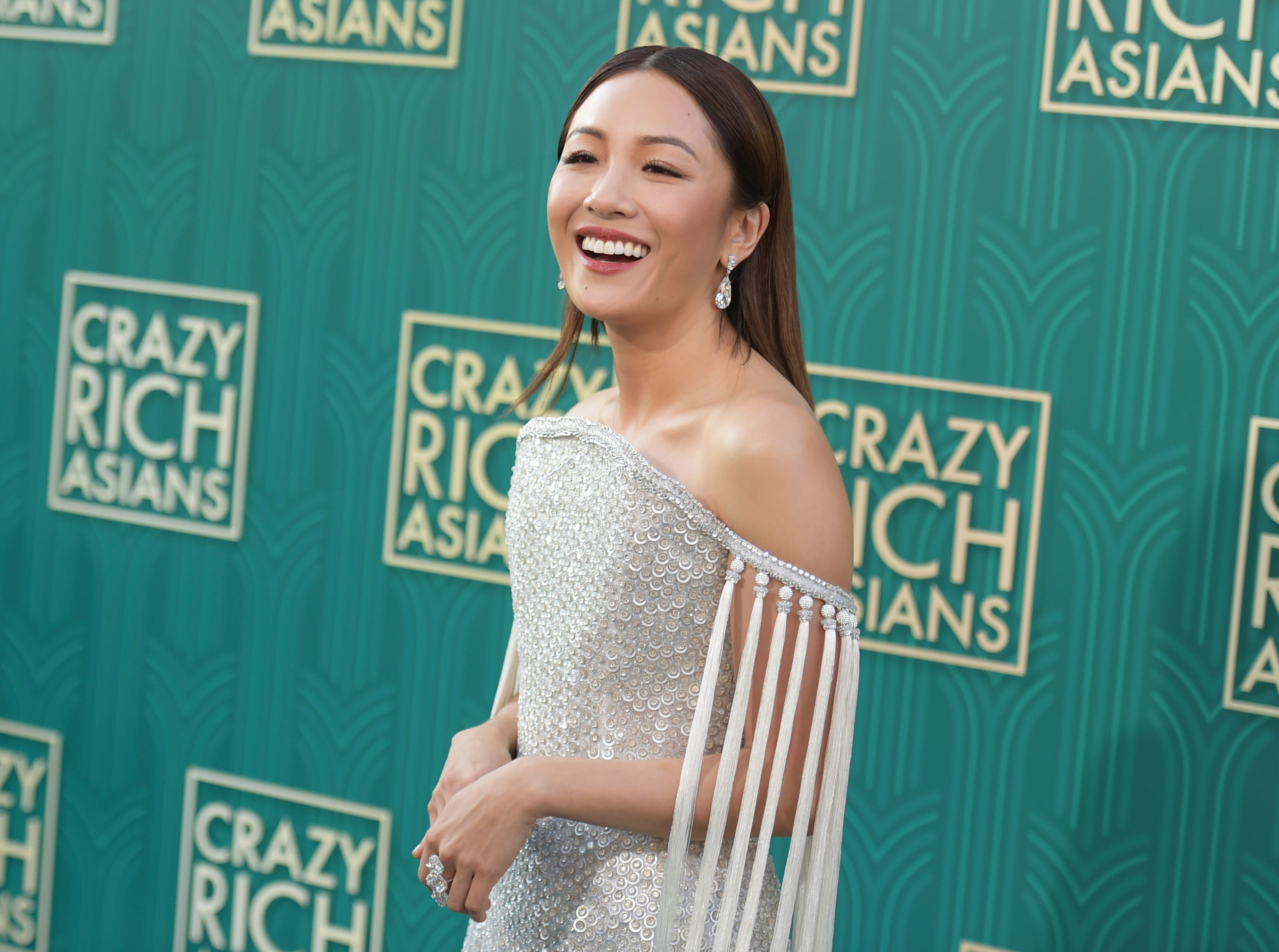 "Constance Wu said the film is making history. ""Before ('Crazy Rich Asians'), I hadn't even done a tiny part in a studio film,"" she wrote in a message posted to Twitter. ""I never dreamed I would get to star in one...because I had never seen that happen to someone who looked like me."""