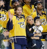 Country music star Carrie Underwood told fans on Instagram that she and husband Mike Fisher are expecting a sibling for big brother Isaiah.