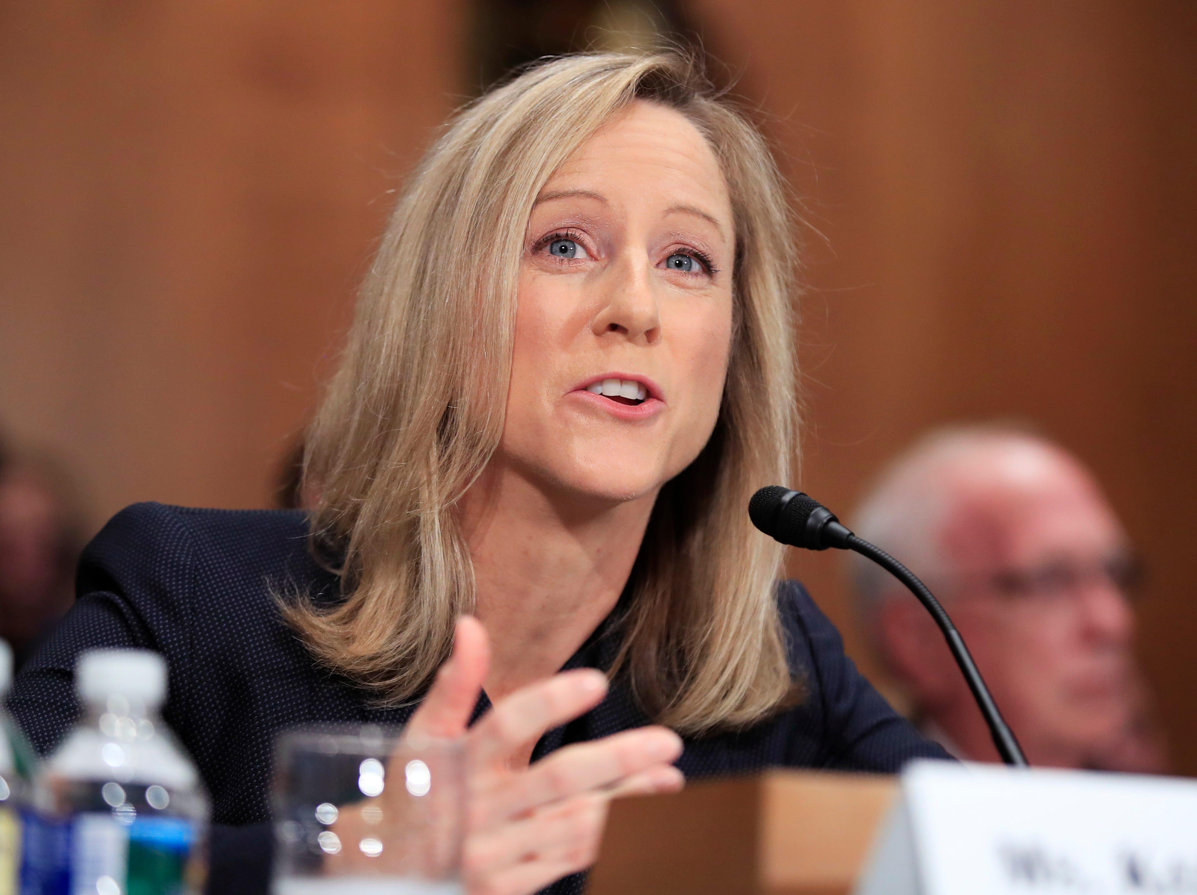 Ap Consumer Watchdog Nomination Hearing A Usa Dc