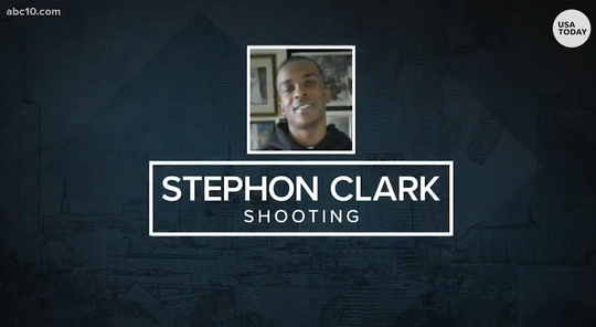 Demanding justice: Protesters call for accountability one year after Stephon Clark's death