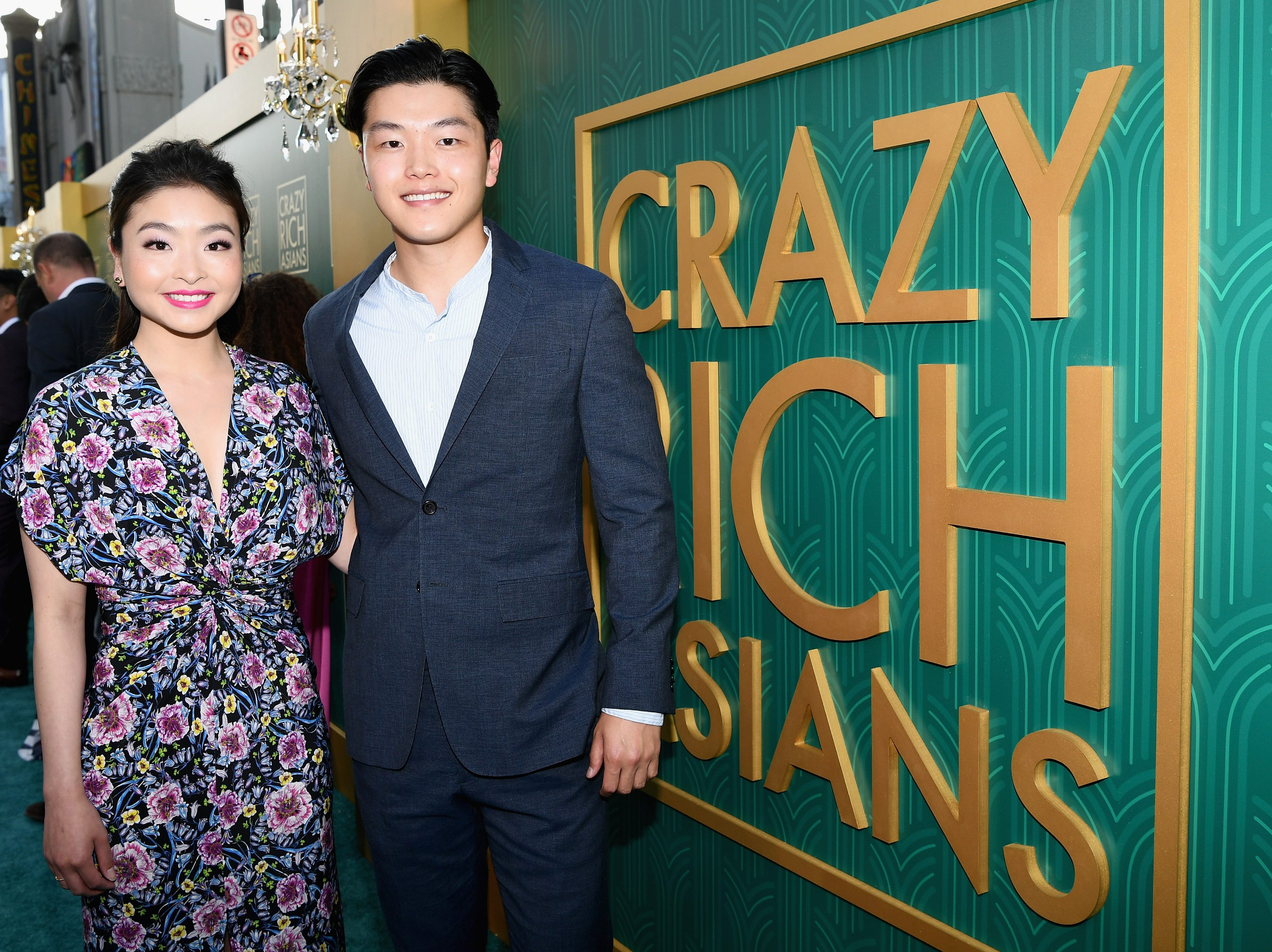 Olympic figure skaters Maia and Alex Shibutani looked picturesque on the red carpet.