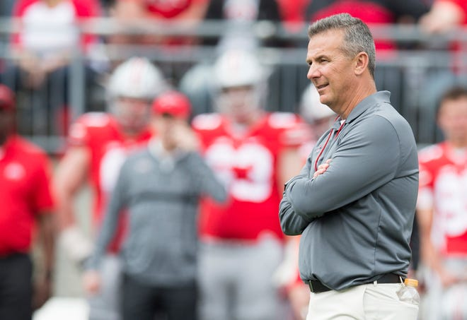 Urban Meyer would be due $38.1 million from Ohio State if the university fires him without cause on or before Jan. 31.