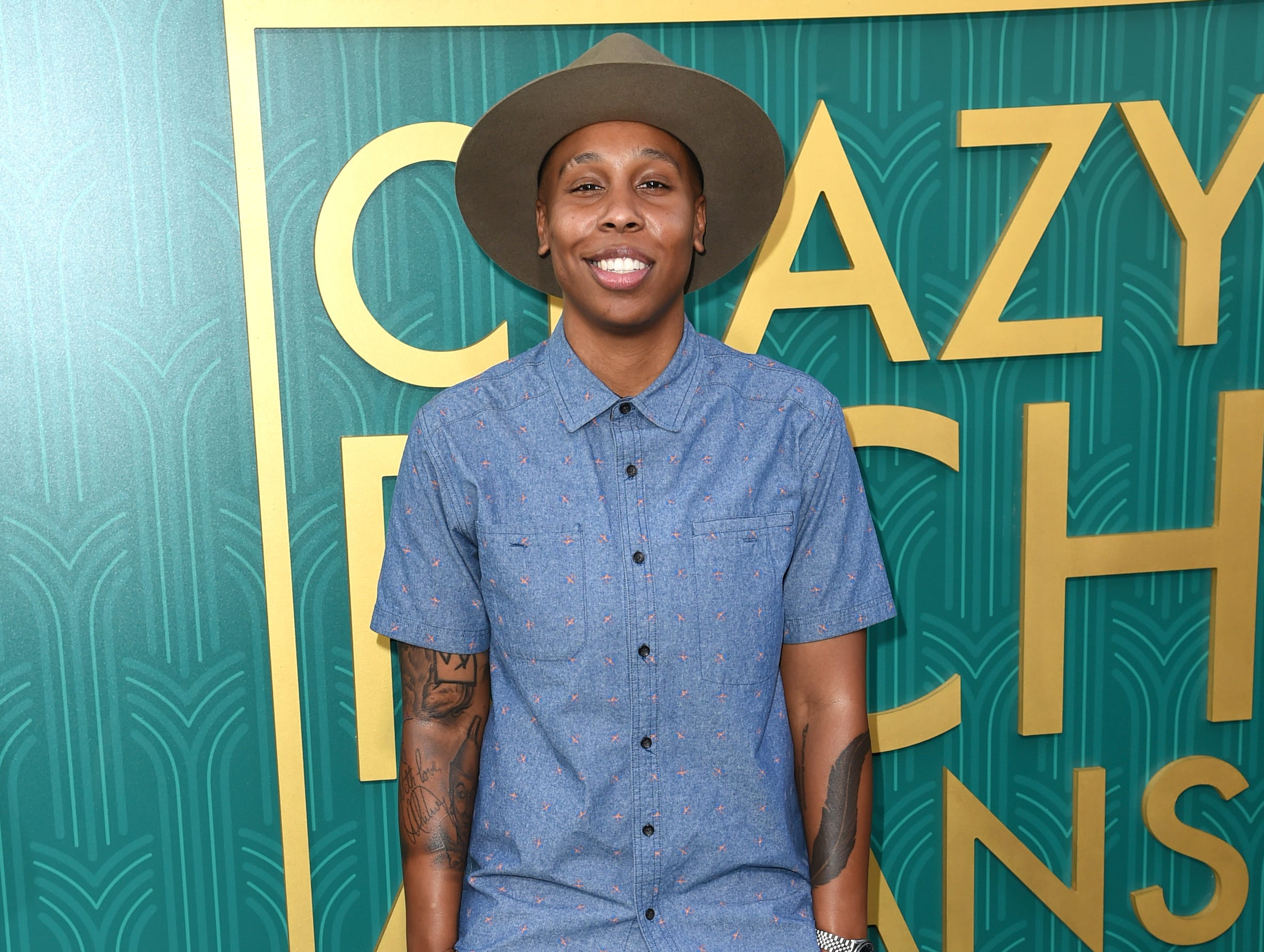 Lena Waithe kept it casual.