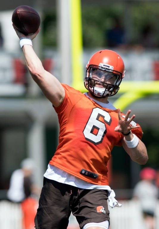 Nfl Cleveland Browns Training Camp