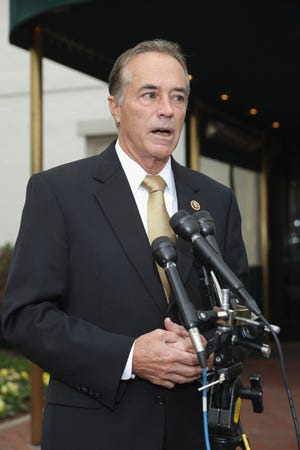 Rep. Chris Collins, R-N.Y., has been arrested on charges of securities and wire fraud.